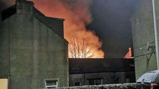 Walkerburn Fire