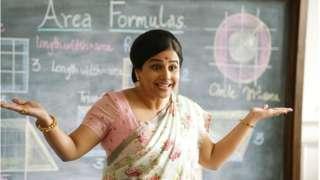 Vidya Balan in and as Shakuntala Devi