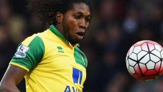 Norwich and DR Congo striker Dieumerci Mbokani