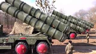 Moonyesho ya mfumo wa ulinzi wa makombora ya masafa - S-400 missile