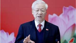 阮富仲跻身越共最高领导层至今已逾20年。