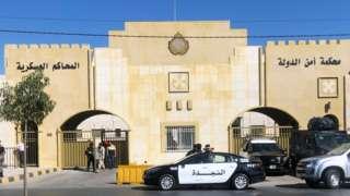 محكمة عسكرية في العاصمة الأردنية عمان