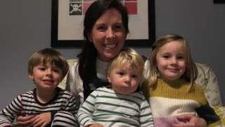 Jo Waldock and family