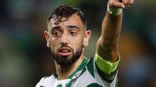 Sporting's Bruno Fernandes