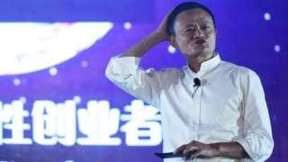 Jack Ma lider de Alibaba