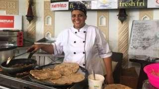 Maliha Mohammed a préparé 400 plats en 75 heures.