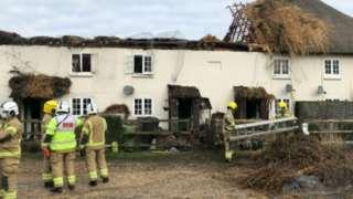 Bransbury fire