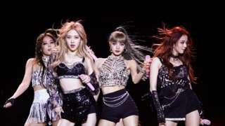 K-pop band Blackpink