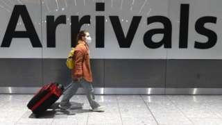 Traveller at Arrivals
