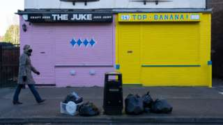 Shuttered small businesses in Birmingham