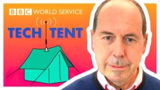Rory Cellan-Jones and Tech Tent logo