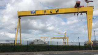 Harland and Wolff teams up with Spanish firm for a contract to build UK naval ships.