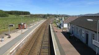 dalwhinnie station