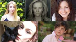 Maddy Wallace, Many Bowles, Averil Hart, Maria Jakes and Emma Brown