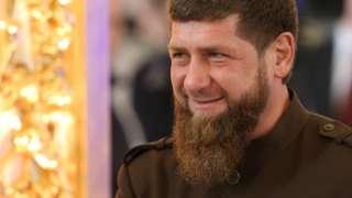 Image shows Ramzan Kadyrov