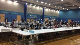 Count taking place in Stoke