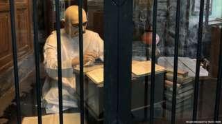 केसरी संग्रहालयात मंडालेच्या कोठडीची प्रतिकृती