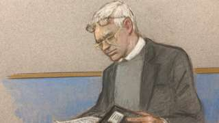 Julian Assange in court
