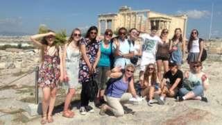 High Storrs Classical Civilisation students