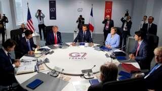 """2019-жылы """"Чоң жетилик"""" саммити Францияда өткөн"""