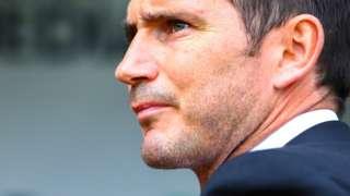 Derby boss Frank Lampard