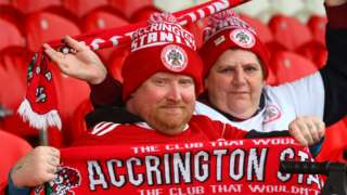 Accrington Stanley supporters