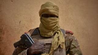 Malian soldier