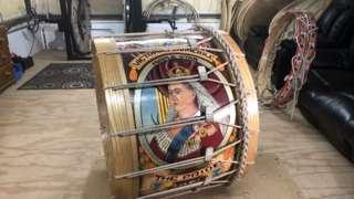 Lambeg drum for Prince Philip tribute