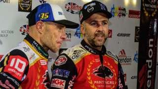 Bjarne Pedersen and Scott Nicholls