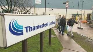 Thamesteel workers