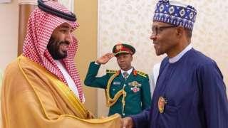 Ọba Saudi ati Muhammadu Buhari