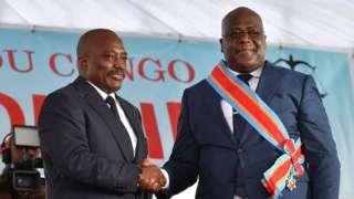 Félix Tshisekedi et Joseph Kabila