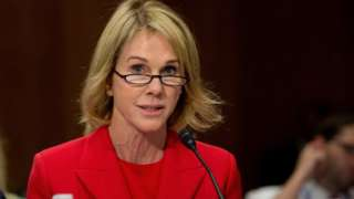 Kelly Knight Craft during Senate hearing in 2017