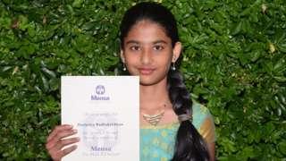 அறிவுக்கூர்மையில் ஐன்ஸ்டீனை விஞ்சிய 11 வயது தமிழ்ச் சிறுமி