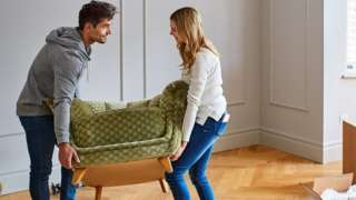 Couple moving into property
