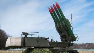 """Зенитно-ракетная установка """"Бук"""""""