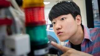 Estudiante en Corea del Sur