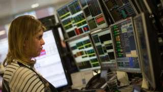 London stock market image
