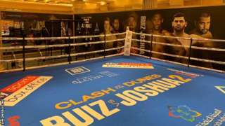 Boxing ring Saudia Arabia