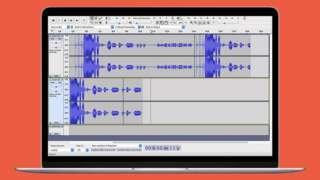 Audacity editing programme screenshot