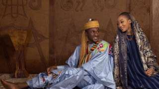 Buhari son wedding: Yusuf Buhari and Zahra Bayero marriage
