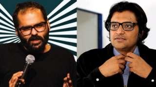 કૃણાલ કામરા અને અર્નબ ગોસ્વામી