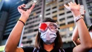 Protester, Hong Kong, June 2020