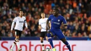 Awọn agbabọọlu Valencia ati Chelsea