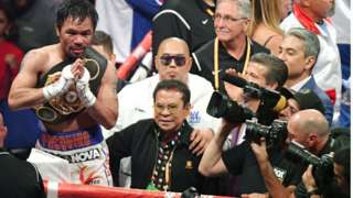 Legendary boxer Manny Pacquiao is launching his own online payments venture.