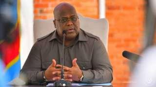 Le président congolais Felix Tshisekedi