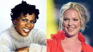 Janet Hubert and Katherine Heigl