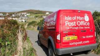 Isle of Man Post Office Van