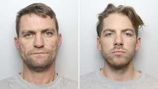 Frank Simpson, 36, and Jordan Hartley, 27,