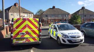 Police in Sunderland